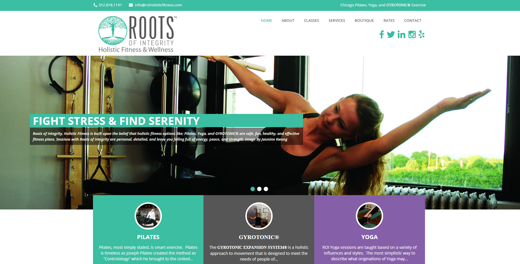 Roots of Integrity Rebrand/Redsign