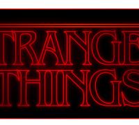 Stranger Things Logo Illustrator